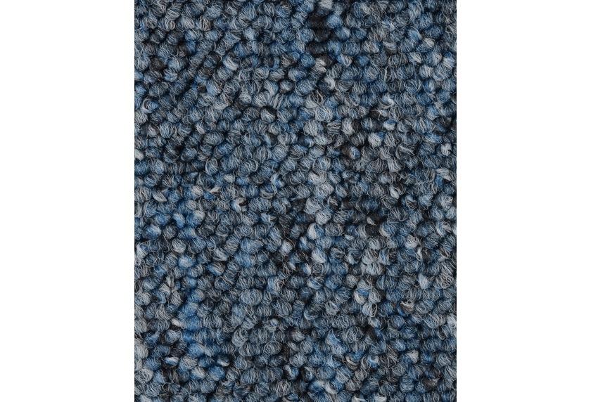 ilima Teppichboden Schlinge BARDINO/ROCKY blau meliert