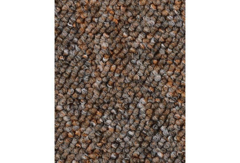 Hometrend BARDINO/ROCKY Teppichboden, Schlinge, braun meliert
