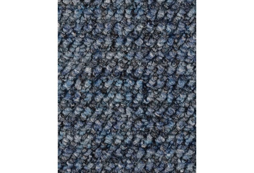 Hometrend ANEMONE/REVUE Teppichboden, Schlinge gemustert, blau