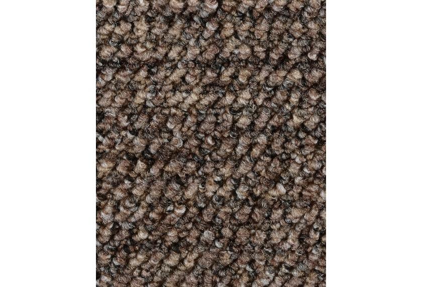 Hometrend ANEMONE/REVUE Teppichboden, Schlinge gemustert, braun