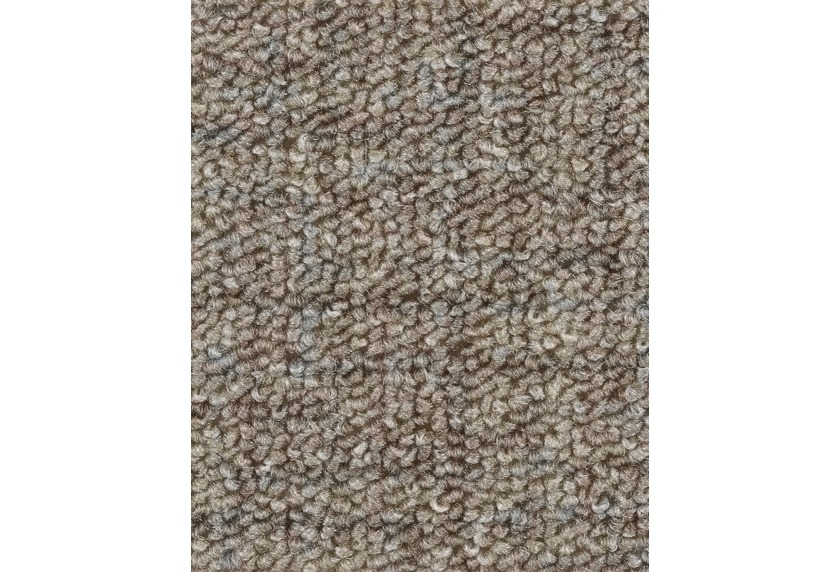 Hometrend IKARUS/ROBERTA Teppichboden, Schlinge gemustert, braun/Natur