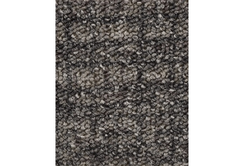 Hometrend IKARUS/ROBERTA Teppichboden, Schlinge gemustert, dunkelgrau