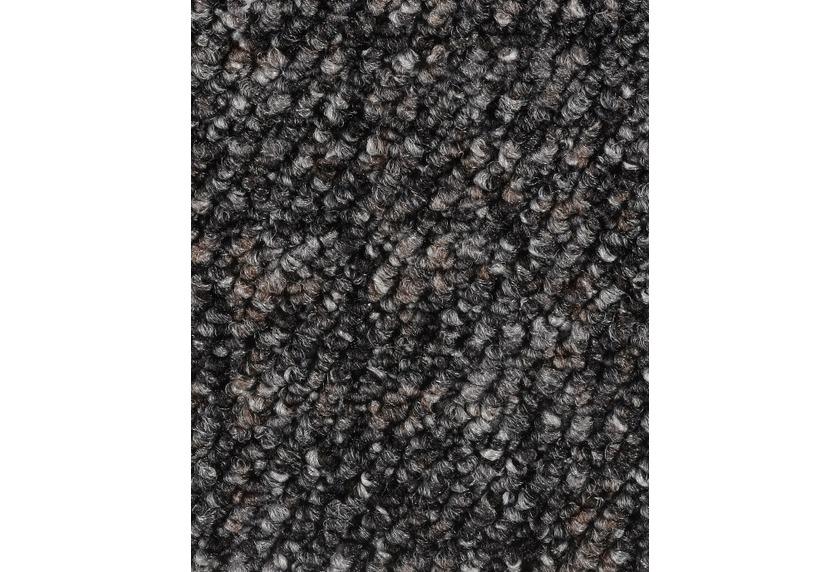 Hometrend ANEMONE/REVUE Teppichboden, Schlinge gemustert, grau-Schwarz