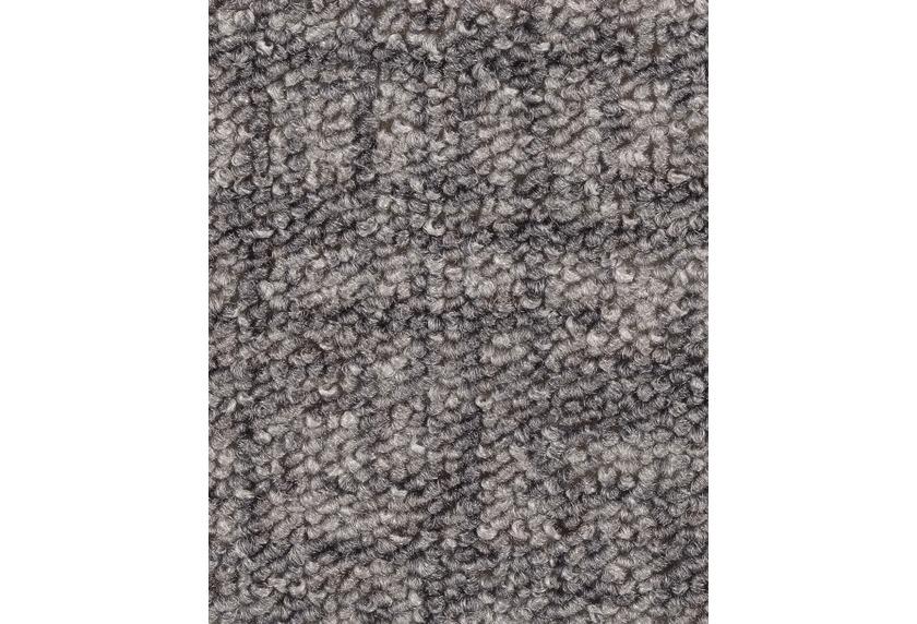 Hometrend IKARUS/ROBERTA Teppichboden, Schlinge gemustert, grau
