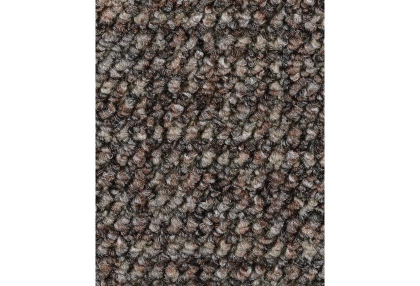 Hometrend ANEMONE/REVUE Teppichboden, Schlinge gemustert, graubraun