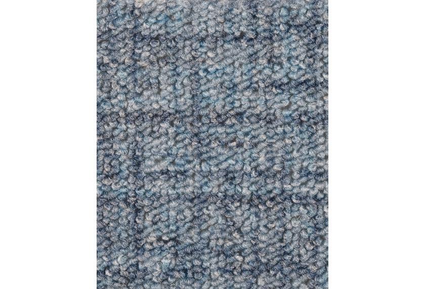 Hometrend IKARUS/ROBERTA Teppichboden, Schlinge gemustert, hellblau