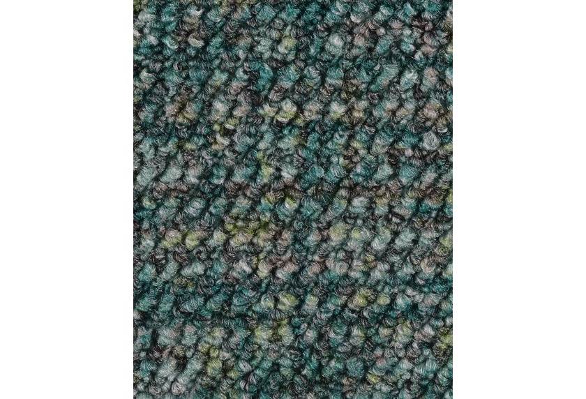 Hometrend ANEMONE/REVUE Teppichboden, Schlinge gemustert Seegrün