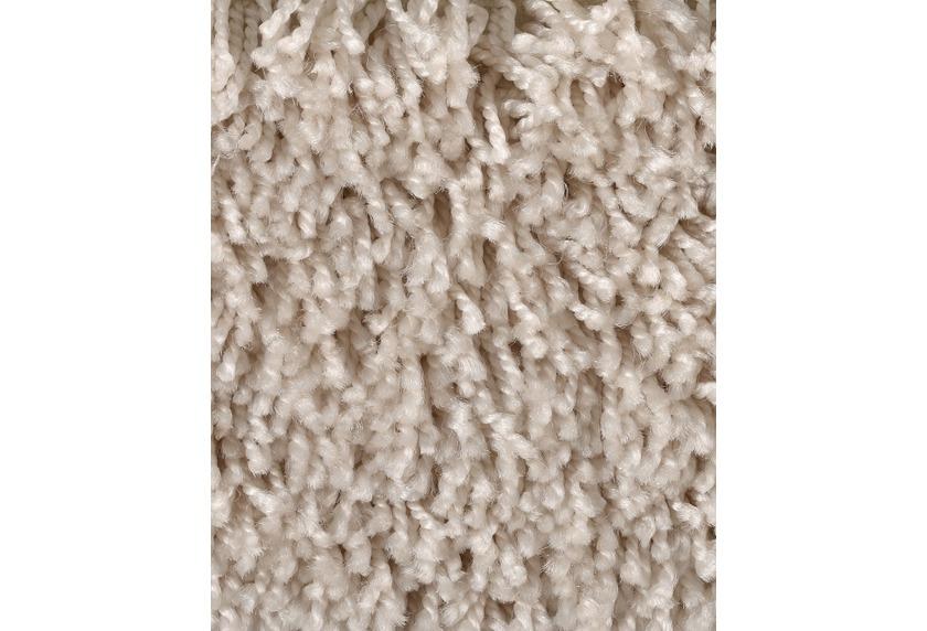 Hometrend CARLITA/GREASE Teppichboden, Shaggy Hochflor, beige/Creme