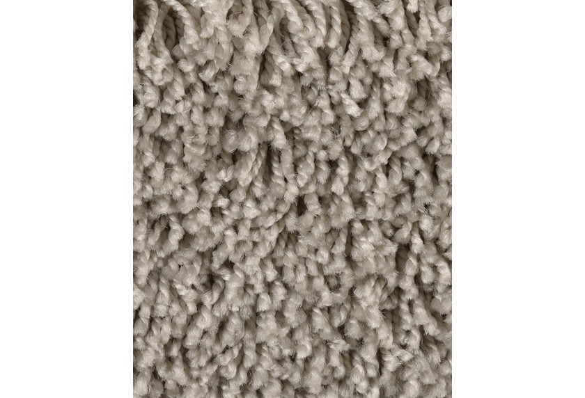 ilima Teppichboden Shaggy Hochflor CARLITA/GREASE grau/Beige