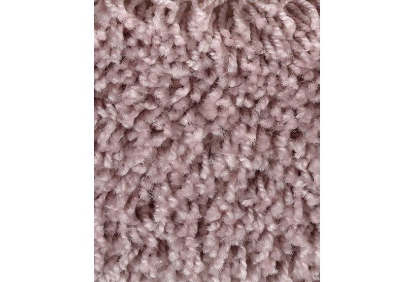Hometrend CARLITA/GREASE Teppichboden, Shaggy Hochflor, rosa