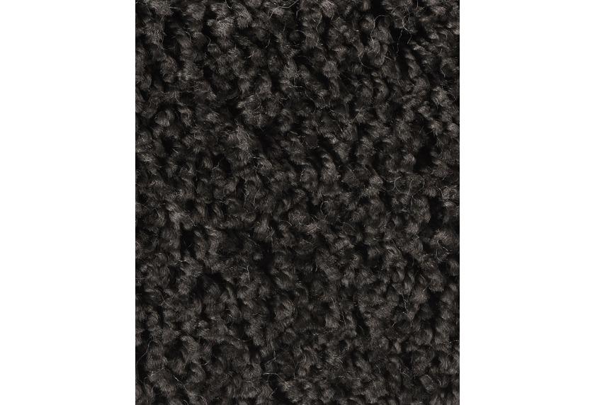 Hometrend CARLITA/GREASE Teppichboden, Shaggy Hochflor, schwarz