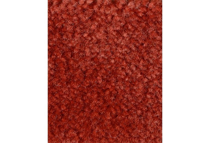 Hometrend CAPELLA/RACHEL Teppichboden, Velours meliert, rot