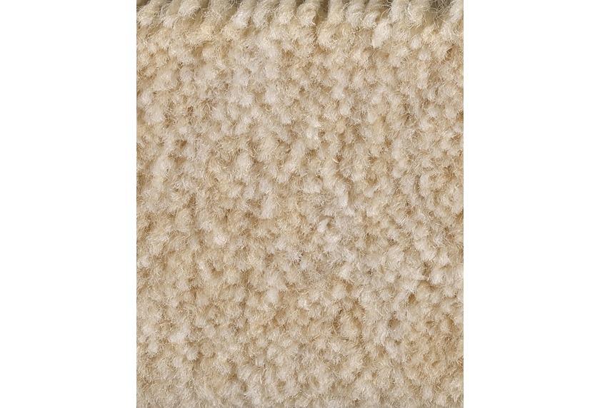 Hometrend CAPELLA/RACHEL Teppichboden, Velours meliert, sand/Creme