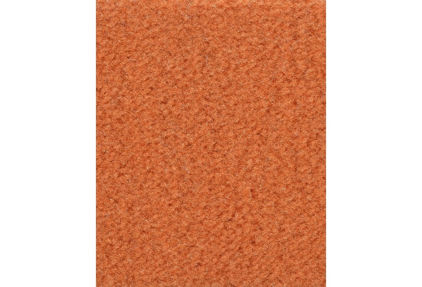Hometrend ANDIAMO/CATS Teppichboden, Velours uni, orange