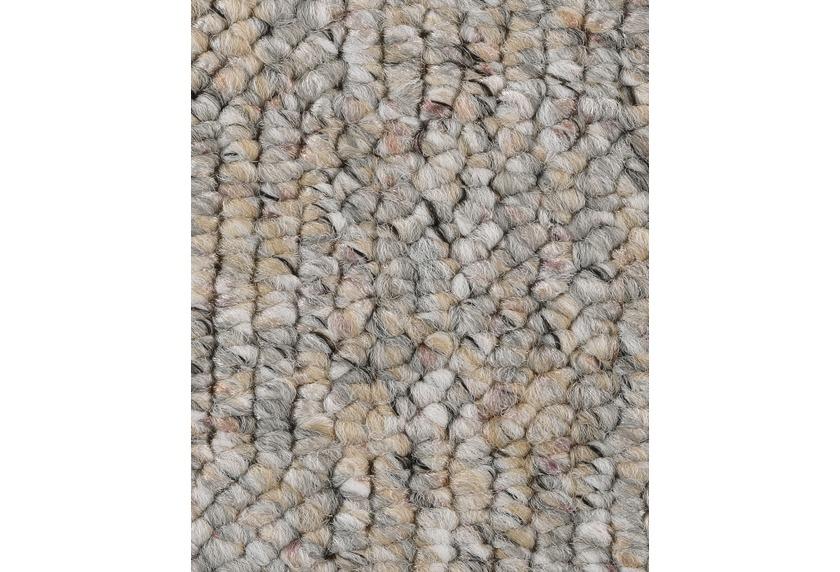 Hometrend LOLITA Teppichboden, Schlinge meliert, beige/grau