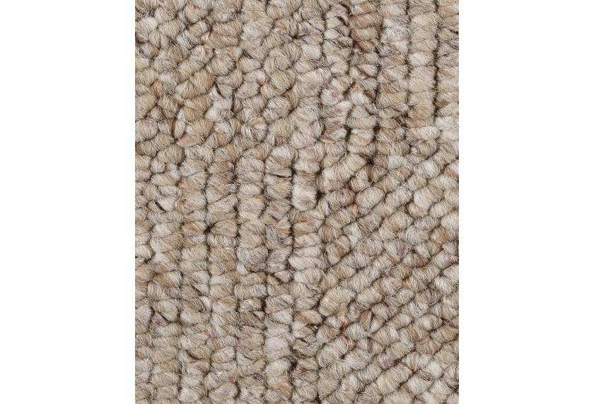 Hometrend LOLITA Teppichboden, Schlinge meliert, beige/natur