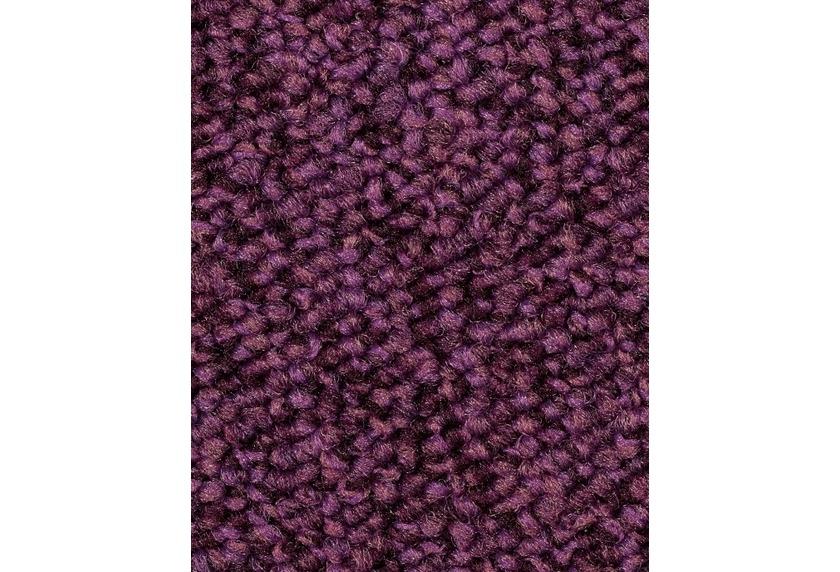 Hometrend CAMA Teppichboden, Schlinge meliert, burgund