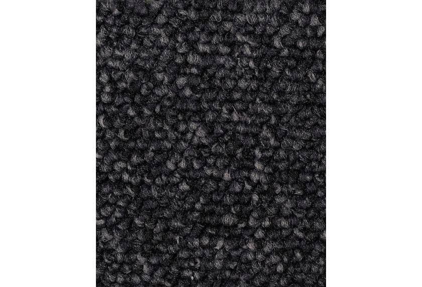 ilima Teppichboden Schlinge Baltic meliert schwarz