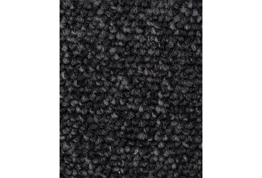 Hometrend ROPERO VR Teppichboden, Schlinge meliert, schwarz