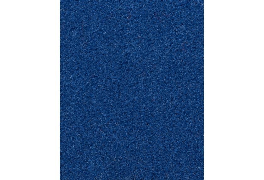 Hometrend COMODA Teppichboden, Uni-Velours, blau