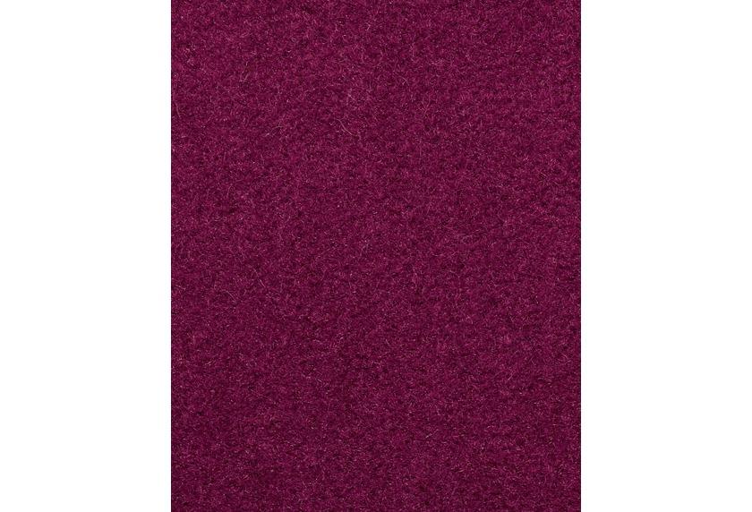 Hometrend COMODA Teppichboden, Uni-Velours purpur