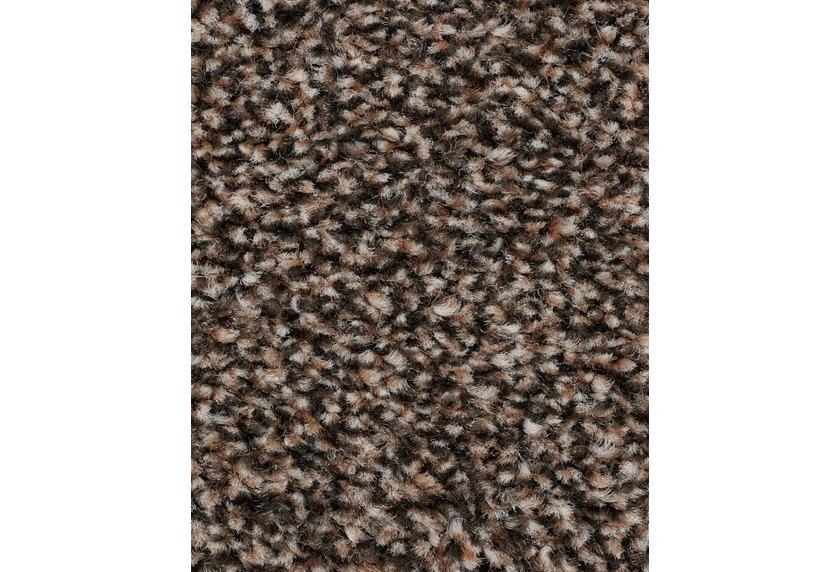 Hometrend LIBERIA Teppichboden, Velours gemustert, schwarz/braun