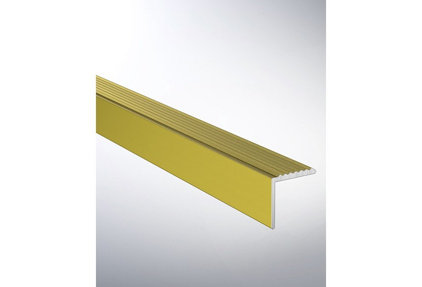 hometrend winkelprofil gerillt 20x20 mm gebohrt alu gold. Black Bedroom Furniture Sets. Home Design Ideas