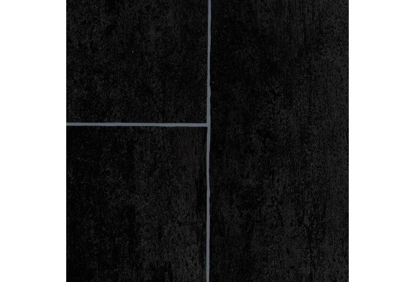 ilima Vinylboden PVC Lugana Fliesenoptik anthrazit schwarz