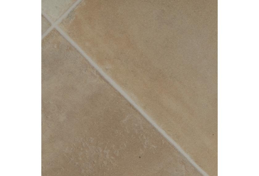 ilima Vinylboden PVC Kadira Fliesenoptik diagonal hell-beige