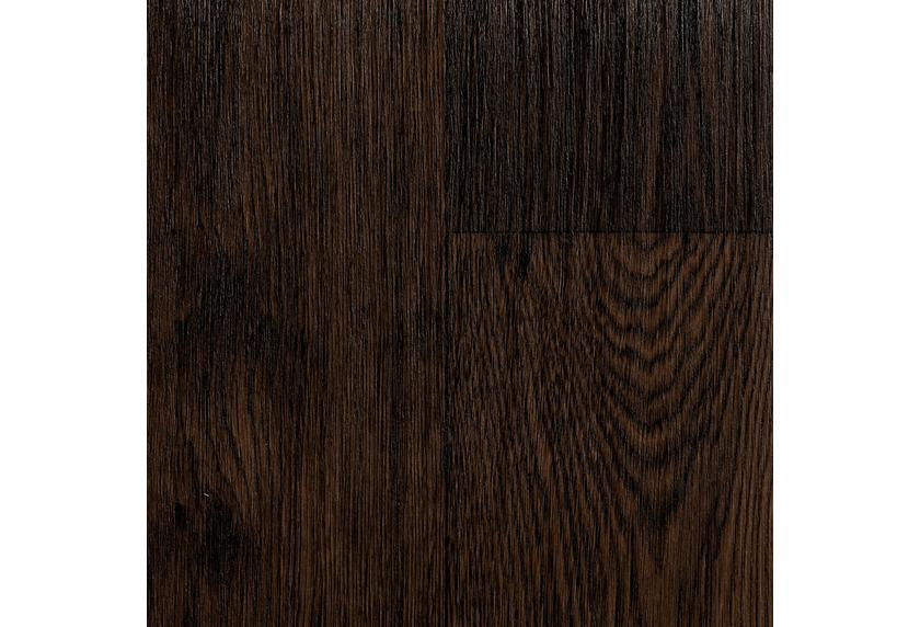 ilima Vinylboden PVC Bamberg Holzoptik Diele Eiche schokobraun dunkel