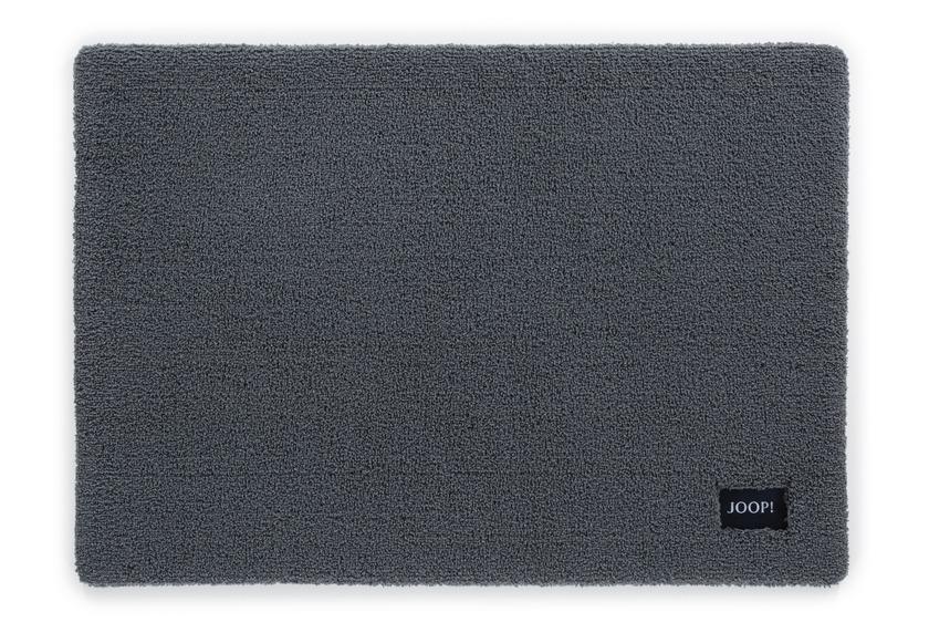 joop badteppich basic 69 anthrazit badteppiche bei tepgo kaufen versandkostenfrei. Black Bedroom Furniture Sets. Home Design Ideas