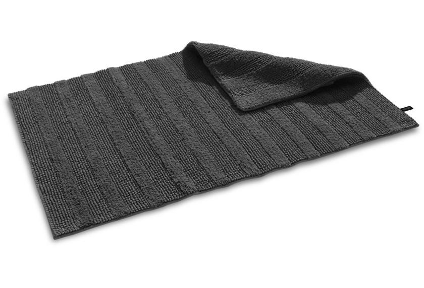 joop badteppich cotton stripes anthrazit badteppiche bei tepgo kaufen versandkostenfrei. Black Bedroom Furniture Sets. Home Design Ideas
