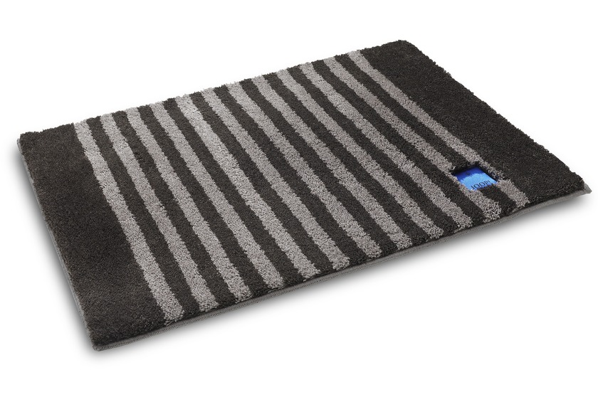 Joop badteppich classic stripes basalt badteppiche bei tepgo kaufen versandkostenfrei for Joop badteppich sale