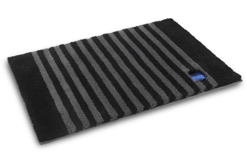 joop badteppich classic stripes schwarz badteppiche bei tepgo kaufen versandkostenfrei. Black Bedroom Furniture Sets. Home Design Ideas