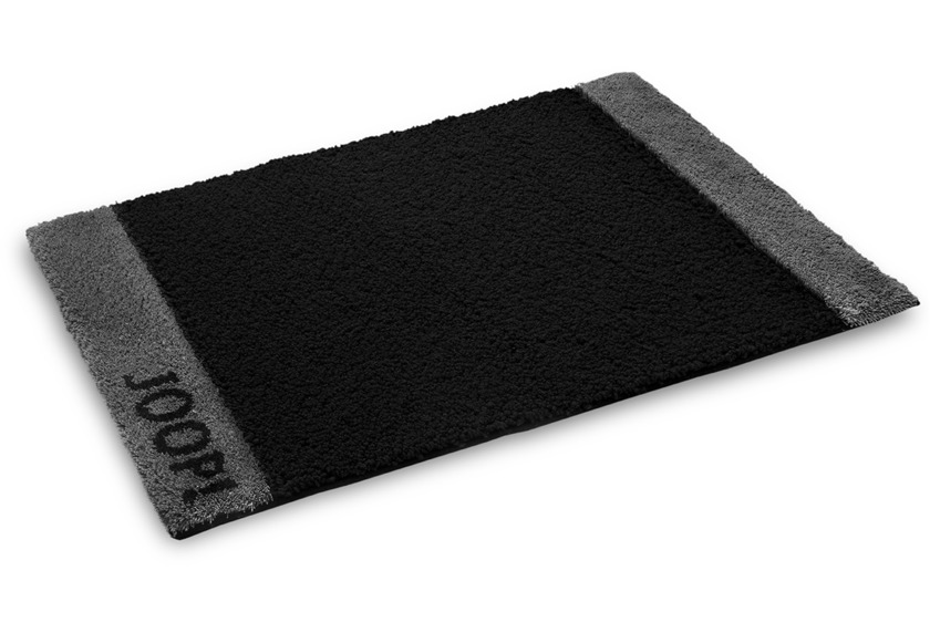 joop badteppich dialog schwarz badteppiche bei tepgo. Black Bedroom Furniture Sets. Home Design Ideas