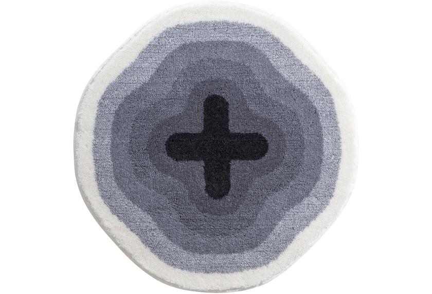 GRUND , Badteppich, KARIM RASHID Concept 03 096 grau