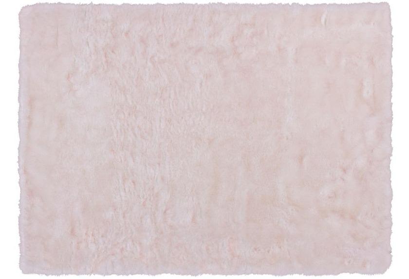 Kayoom Teppich Crown 110 Weiß / Puderrosa