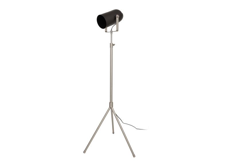 Kayoom Stehlampe Celeste 325 Schwarz / Silber