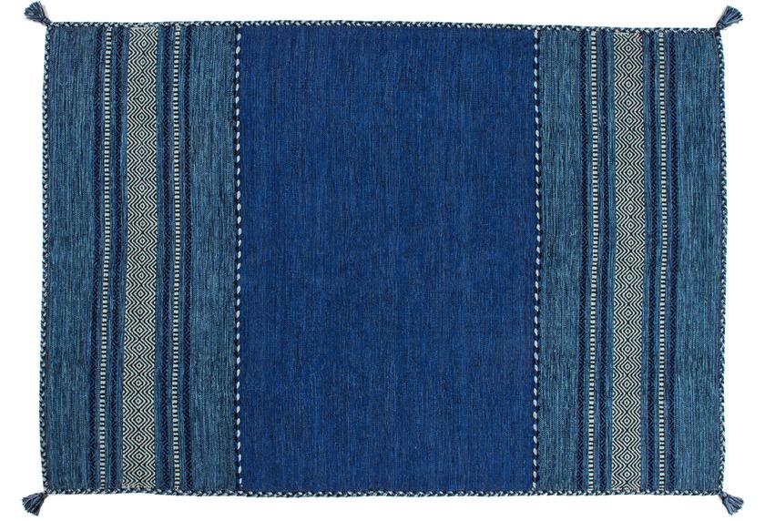 Kayoom Handwebteppich Alhambra 335 Blau