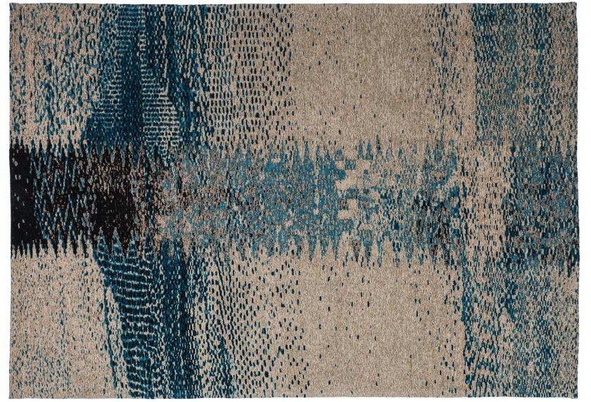 kayoom patchwork teppich ballerina 720 grau t rkis. Black Bedroom Furniture Sets. Home Design Ideas