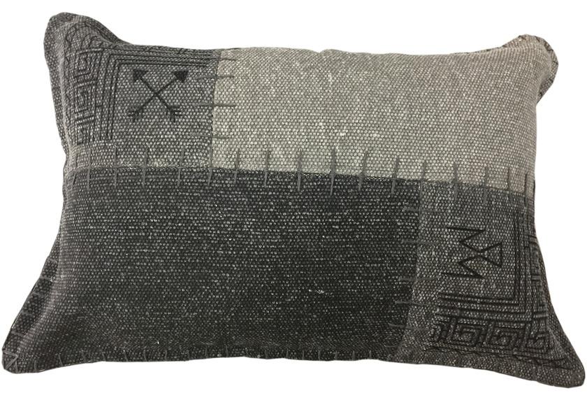 kayoom sofakissen lyrical pillow 210 multi grau. Black Bedroom Furniture Sets. Home Design Ideas
