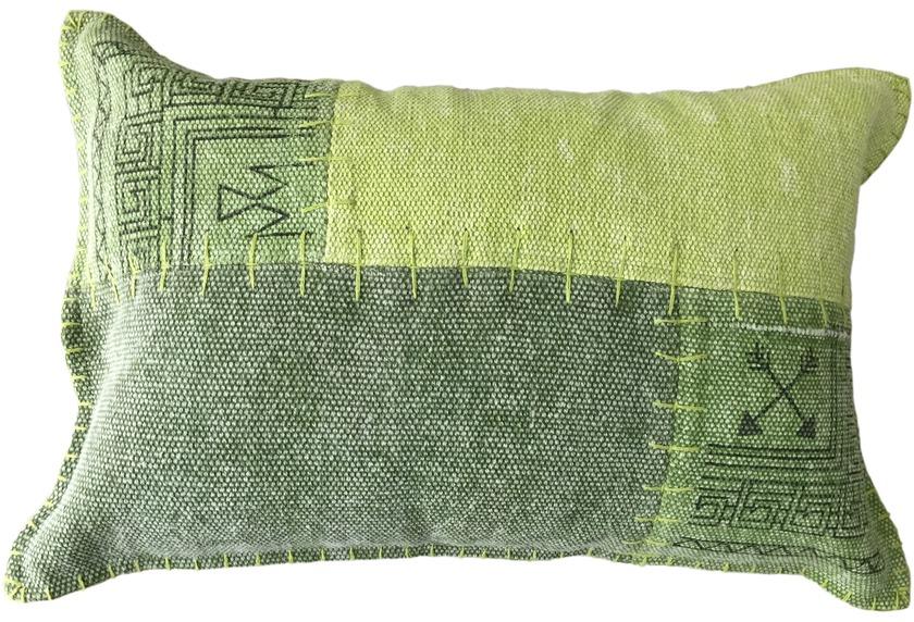 kayoom sofakissen lyrical pillow 210 multi gr n. Black Bedroom Furniture Sets. Home Design Ideas