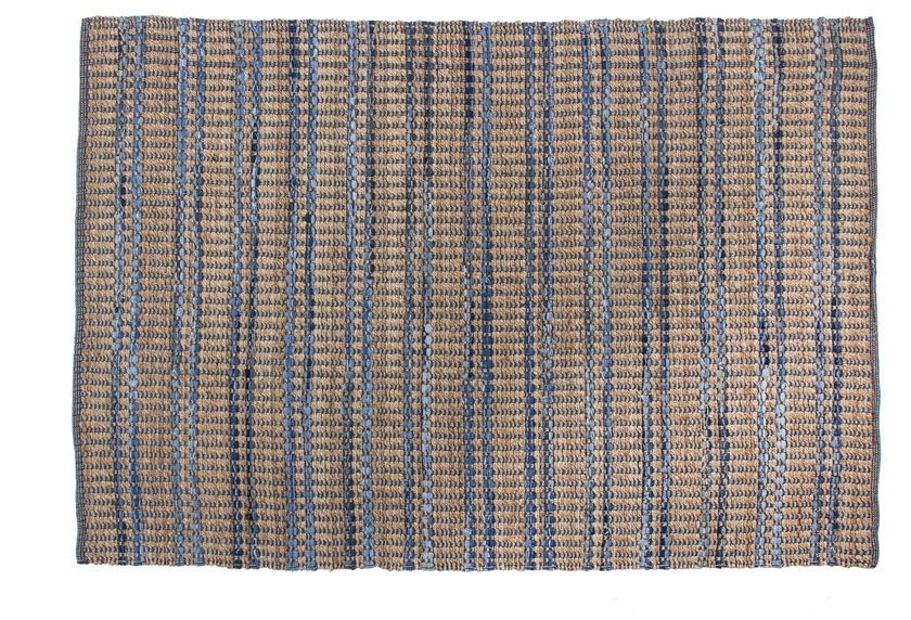Kayoom Jute-Teppich Sienna 110 Blau