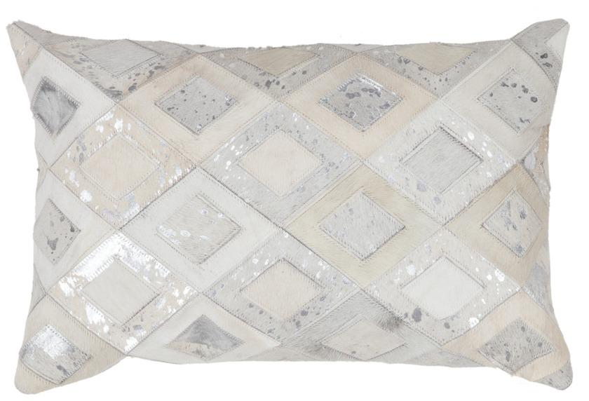 kayoom sofakissen spark pillow 110 grau silber. Black Bedroom Furniture Sets. Home Design Ideas