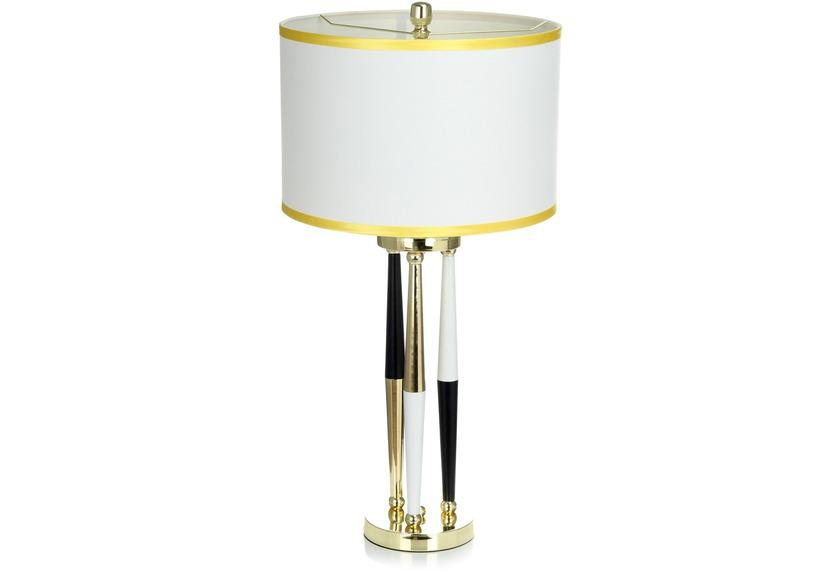 Kayoom Tisch- / Stehlampe Paralla 110 Weiß / Schwarz / Gold
