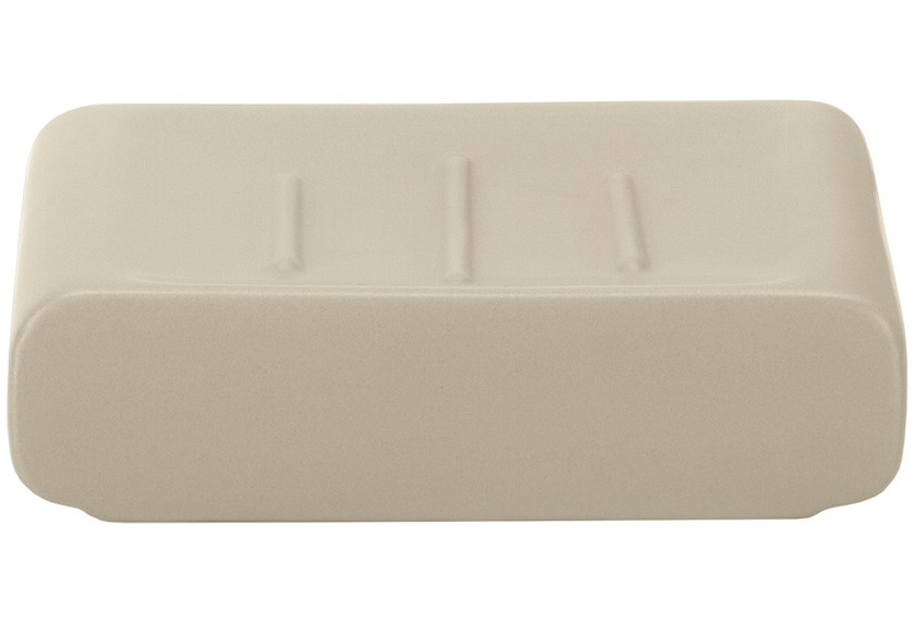 Kleine Wolke Accessoires Seifenschale Cubic, Taupe 3 x 11 cm