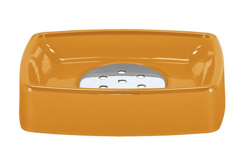 Kleine Wolke Accessoires Seifenschale Easy, Orange 3 x 12 cm