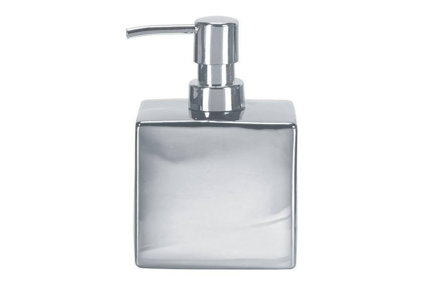Kleine Wolke Accessoires Seifenspender Glamour, Silber 15 x 10 cm