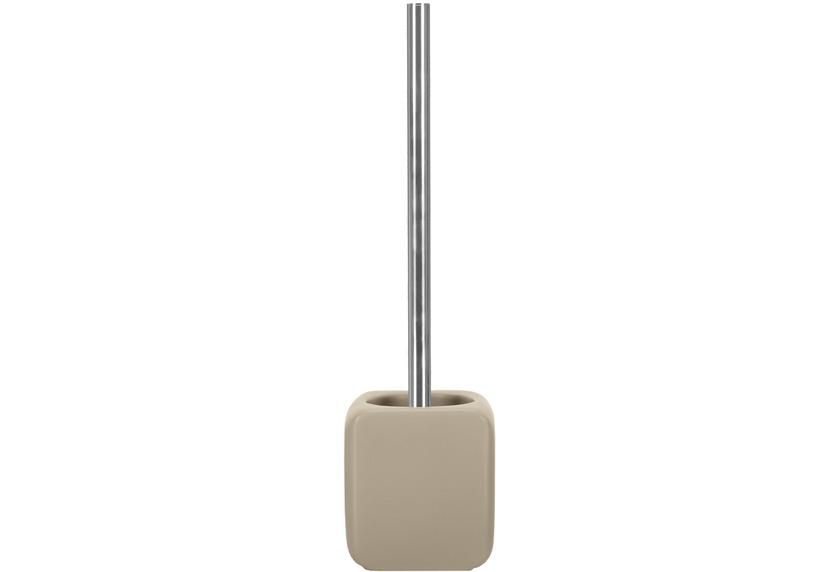 Kleine Wolke WC-Bürstengarnitur Cubic, Taupe 38 x 11 cm