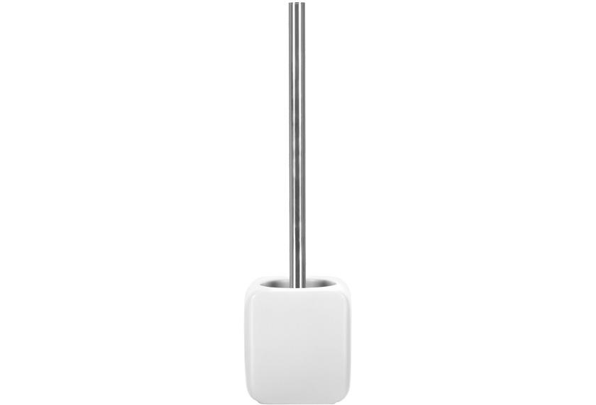 Kleine Wolke WC-Bürstengarnitur Cubic, Weiß 38 x 11 cm